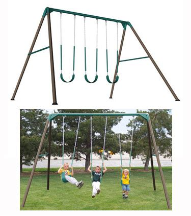 lifetime 10 swing set new lifetime 263000 heavy duty residential a frame swing set constructed of powder coated steel