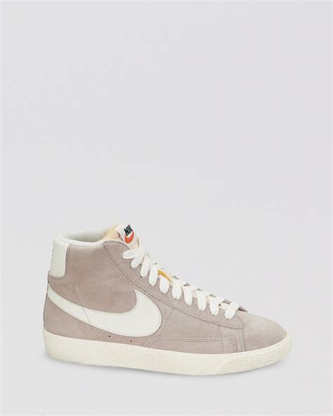 nike lace up high top sneakers s blazer mid in
