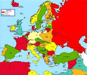 Europe In 1914 Map by Ethnic Map Of Europe In 1914 Pictures To Pin On Pinterest