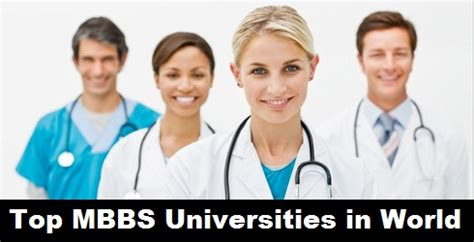 Top 10 Universities In The Usa For Mba by Top Ranking Mbbs Universities In The World
