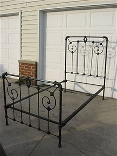 iron scroll bed frame antique vintage iron bed frame wrought iron scroll
