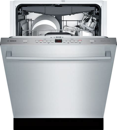 Bosch Third Rack Review by Shxm65w55n Bosch 500 24 Quot Dishwasher 44 Db 5 5 Cycles