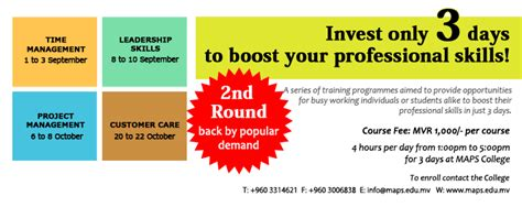 Of Bedfordshire Mba In Hospital Management by 2nd Of The Boost Your Professional Skills In Just 3