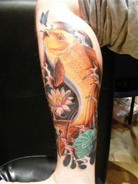butterfly koi tattoo koi tattoos are a sign of success 171 tattoo articles