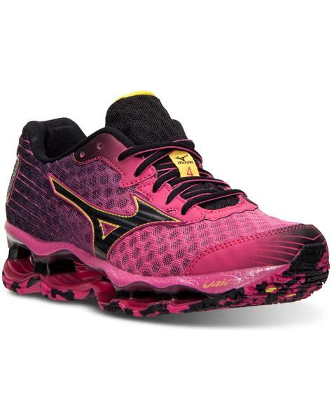 mizuno sneakers womens mizuno s wave prophecy 4 running sneakers from