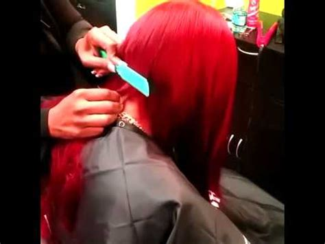 Ms Willa Razor Bob | ms willaworld razor cutting bob youtube