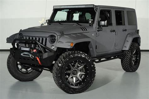 jeep gray wrangler 2014 jeep wrangler unlimited in bentley matte satin grey