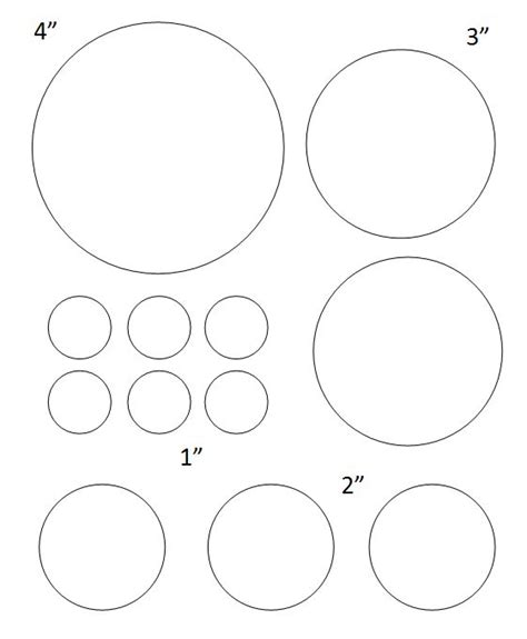 circles template free printable circle templates large and small stencils