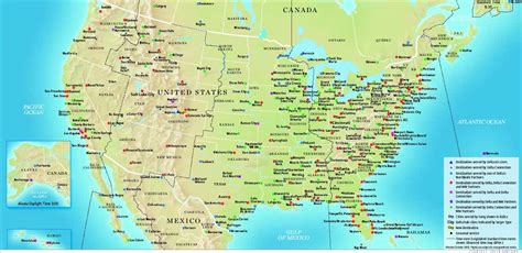 usa map routes maps usa map routes