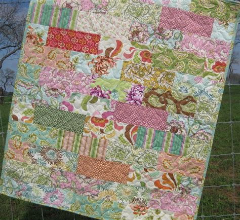 Quilt Patterns Using Eighths by Baby Quilt Pattern Subway Tiles Eighths Simple Fast Throw