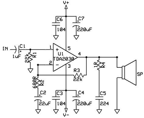 harga transistor tda2030a dukun elektro rangkaian lifier 14w dengan ic tda2030a