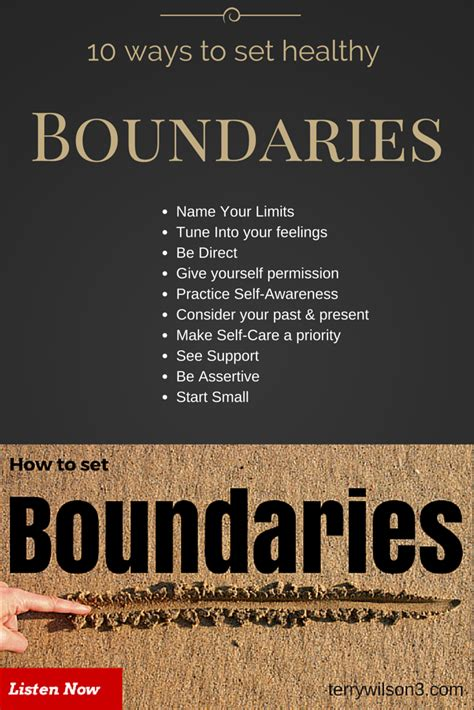 how to boundary a 10 ways to build keep healthy boundaries podcast terrywilson3