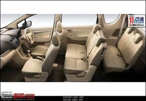maruti suzuki new car 7 seater scoop pics maruti suzukis new 7 seater mpv ertiga update