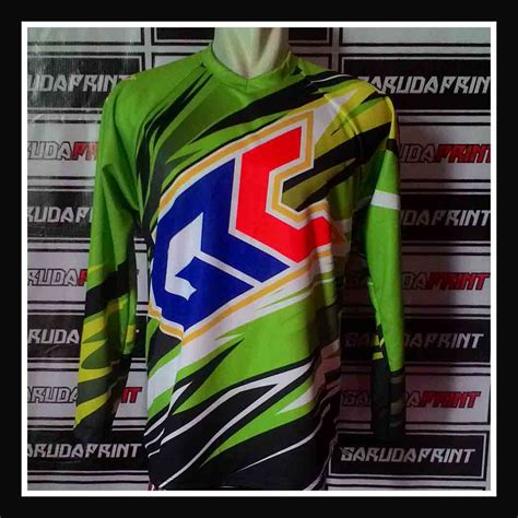design jersey motocross pesanan jersey motocross desain custom garuda print