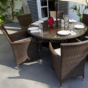 Patio Furniture Sets 250 Cannes Rattan 6 Seater Garden Furniture Dining Set