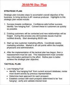 30 60 90 day business plan template 30 60 90 day plan template 8 free documents in pdf