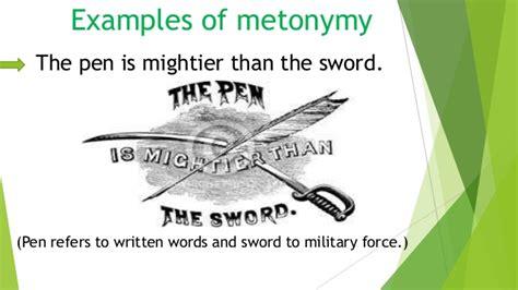 metonymy examples alisen berde