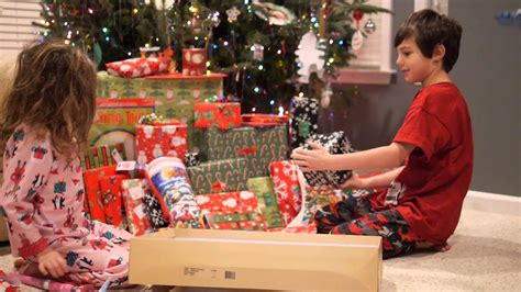top christmas gifts for kids under 4 reaction opening presents on day