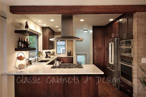 Stainless Steel Countertops Denver by Kitchen Renovation Chestnut Fieldstone Cabinets