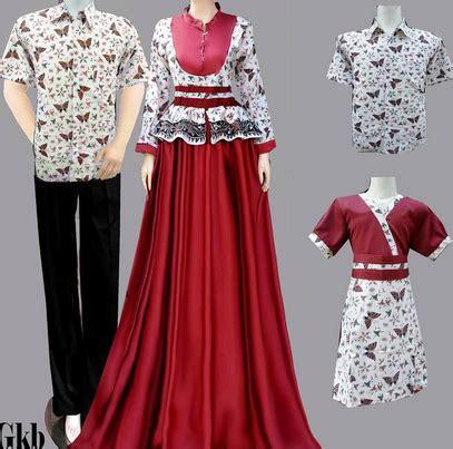 desain baju batik couple terbaru 15 desain baju batik couple model terbaru