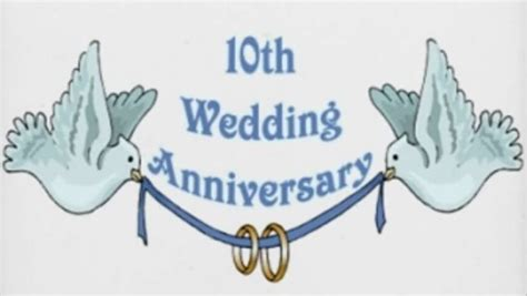 Wedding Anniversary 10th by 10th Year Anniversary Quotes Quotesgram