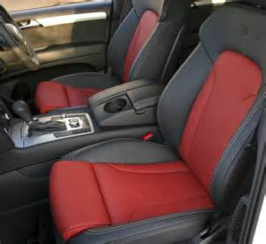 Audi Seat Covers Q7 Audi Q7 Leather Seats Automotive Leather Specialists