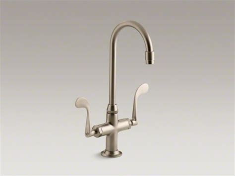 kohler essex kitchen faucet kohler essex r single bar sink faucet with