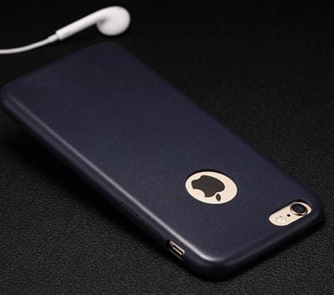 Iphone 6 6s Dove Ultra Slim Cover Casing Premium ultra slim thin leather back cover slim leather back cover for iphone 6 6s 6g buy