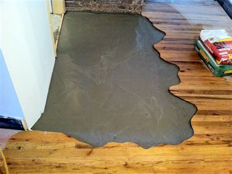 28 best cork flooring uneven subfloor can you put ceramic tile over concrete getshort tiling