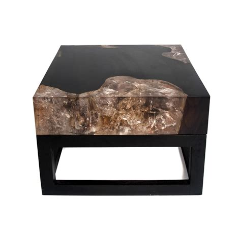 cracked resin coffee table cracked resin coffee table with base cr010 andrianna