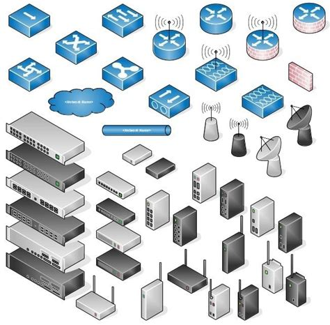 cisco visio stencil pack awesome libreoffice network diagram icons