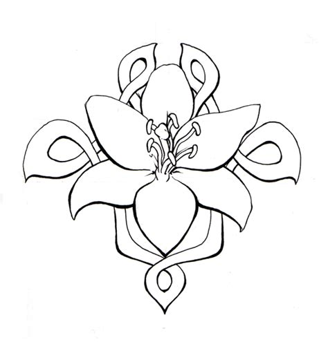 celtic flower tattoo designs ink flower by geoffrey