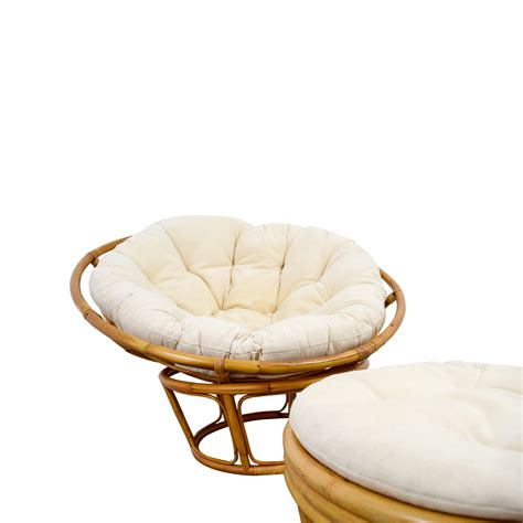 Papasan Chair With Stool by 68 Pier 1 Pier 1 Papasan Chair With Footstool Chairs