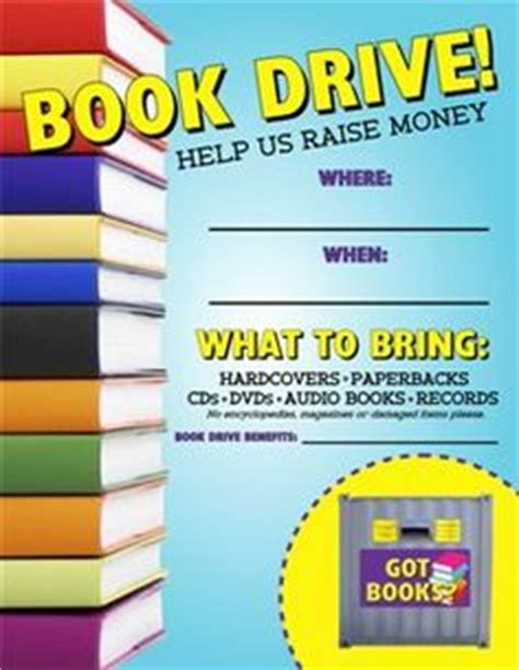 1000 Images About Book Drive Read It Up On Pinterest Fancy Nancy Party Celebration And Book Donation Template