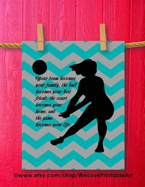 printable volleyball sayings 25 best ideas about volleyball decorations on pinterest