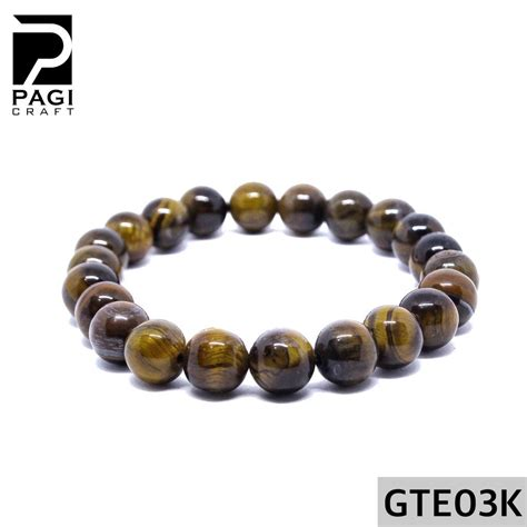 Akik Tiger Eye gelang batu akik tiger eye 8mm jual gelang kokka kaukah