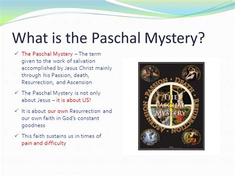 What Is The by Unit 4 Living The Paschal Mystery Lesson 3 After
