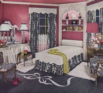 Updated Bathrooms 1940s Decorating Colors Fabrics Flooring Decor And More