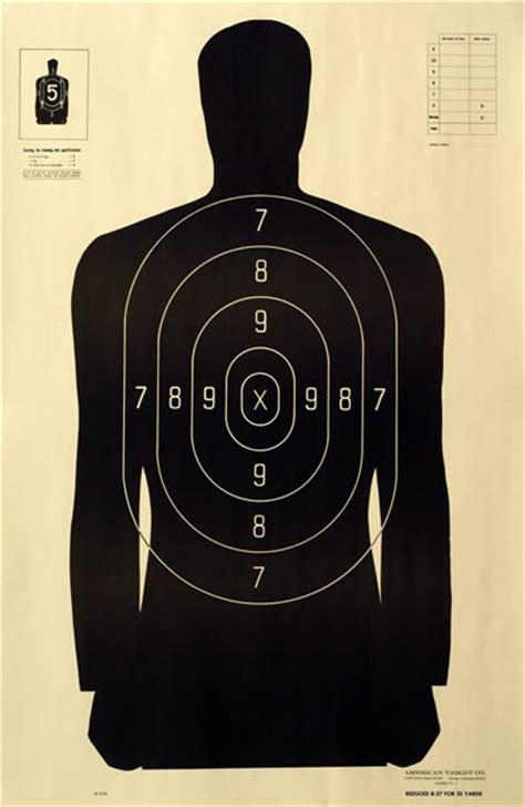 printable law enforcement shooting targets law enforcement shooting target b 27m american target