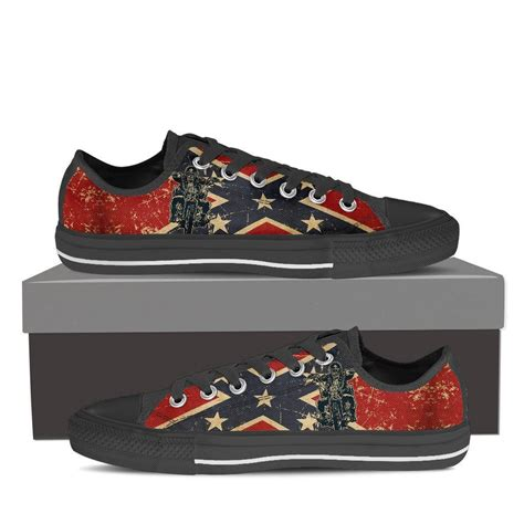 low top motorcycle shoes confederate flag motorcycle shoes rebel flag confederate