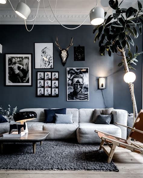 Mur Gris Salon by Comment D 233 Corer Votre Salon Avec Le Gris Et Le Blanc