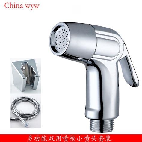 bidet washer free shipping a set of hose nozzle holder and