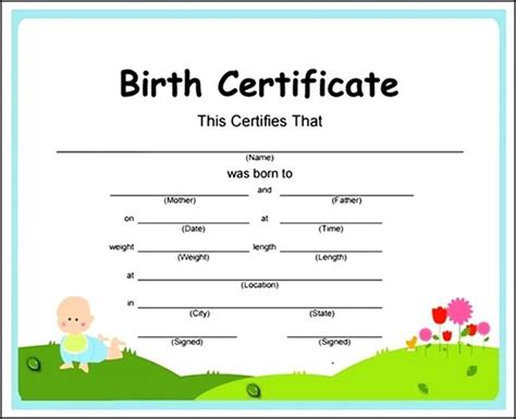 full birth certificate not extract meaning birth certificate template pdf sle templates sle