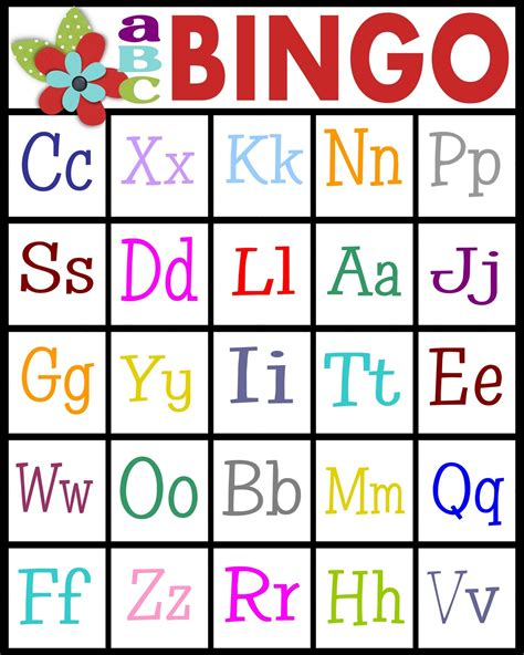 Printable Alphabet Bingo | sassy sanctuary abc s bingo free printable