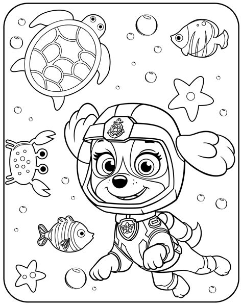 coloring paw patrol free printable paw patrol coloring pages for