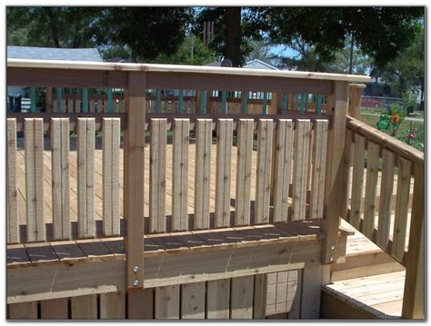 deck railing ideas wooden deck railing ideas decks home decorating ideas