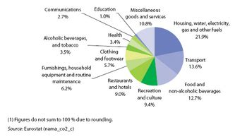 expenditure pattern meaning archive household consumption expenditure background