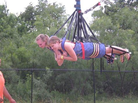 nothin but net picture of zero gravity thrill amusement park dallas tripadvisor