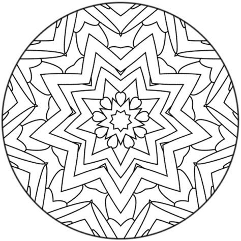 mandala coloring pages a4 mandala 76