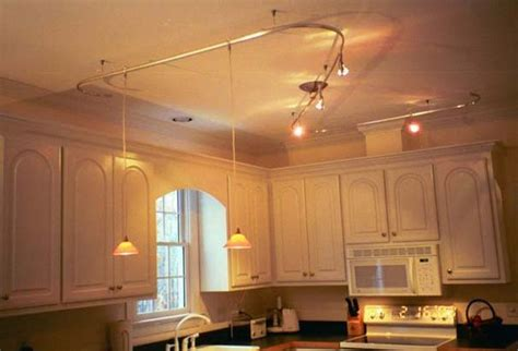 kitchen track lighting kitchens with track lighting home decorating pictures
